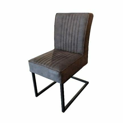 Stuhl David - ohne Arme - Farbe grau