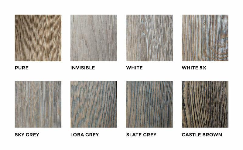 FARBEN-Massivholztischplatten