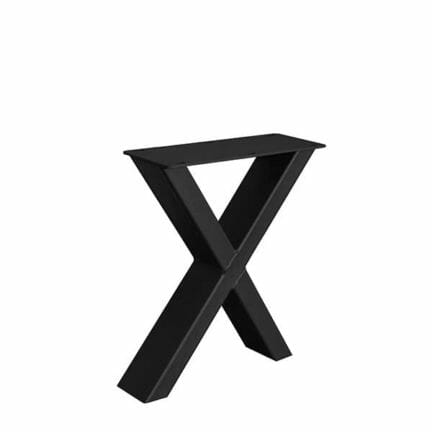 Tischgestell-Stahl-Bank-X