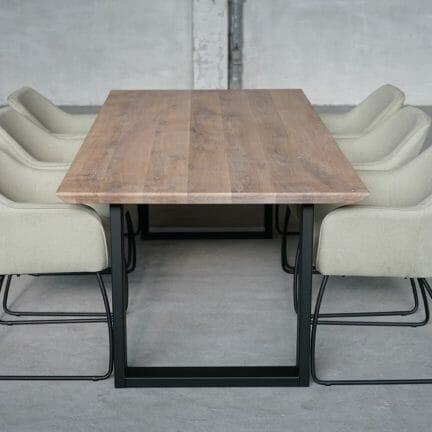 Tischplatte Chalet S, Stuhl New York k